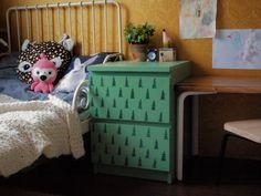 ikea , malm, kids room , kolorowy pokój