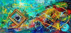 Artwork >> Maximin Lida >> DEEP INTO A DREAM - Abstract