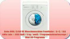 Beko WML 15106 NE Waschmaschine im Test