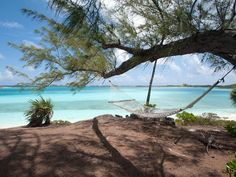 Head to the Bahamas and stay in the Lindon House at Fowl Cay Resort to get this prime oceanfront view of the North Atlantic Ocean. And the hammock is the perfect place for an...