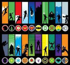 Hero's and villains Dc Comics Funny, Dc Comics Women, Dc Comics Superheroes, Dc Comics Characters, Marvel Heroes, Comics Girls, Marvel Dc, Marvel Comics, Lois E Clark