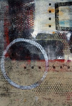 Wonderful layered texture Anne Moore