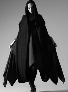 #fashion #avantgarde #dark #Minimal #simple #black #trends #style #wearing: