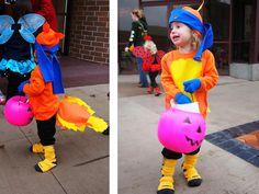 homemade swiper the fox costume from dora the explorer - Swiper Halloween Costume