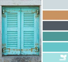 40 Ideas Exterior Paint Colors For House Turquoise Design Seeds Colour Pallette, Colour Schemes, Color Combos, Color Patterns, Color Palate, Exterior Paint Colors, Paint Colors For Home, House Colors, Design Seeds