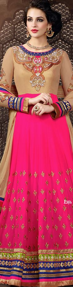 .❋*✿.Anarkali Churidar.✿*❋.Laya Anarkali Churidar, Anarkali Suits, Salwar Kameez, Indian Dresses, Indian Outfits, Indian Couture, Divine Feminine, India Fashion, Indian Bridal