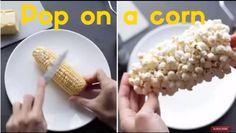 """ちょっと小腹がすいた時などに食べ応えもあっておいしい""""ポップコーン"""" 映画館はもちろん、コンビニやスーパーで売っている物もおいしいですが自分で作ったポップコーンもおいしいものです。 一般的にポップコーンを作る際はフライパンに油をしいて炒りながら作ることが多いと思いますが、今回はYouTubeで公開さ"""