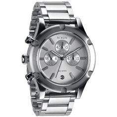 Nixon Camden Chrono Watch - Women's Silver SR, One Size:Amazon:Watches