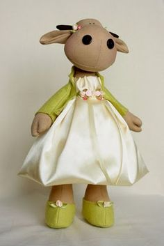 cow doll pattern