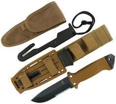 Best Survival Knives - Gerber 22-01400 LMF II Survival Knife