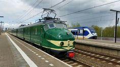 Vandaag heeft de 766 een proefrit gemaakt tussen Leidschendam en Gouda Goverwelle. Op onderstaande foto van Michael Dermois de 766 te Gouda Goverwelle.