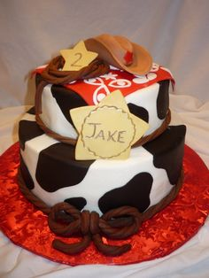 Cowboy Jake's Birthday Cake
