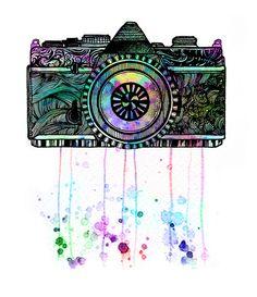 kaleidescope vision. by Jeen Na, via Flickr