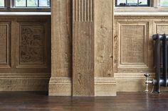 Oak panelling — Jack Badger Ltd Wood Panel Walls, Wood Wall, Wooden Panelling, Duck House, Basement Inspiration, Oak Panels, Georgian Era, Secret Rooms, Cool Bars