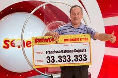 Un número le cambió todo a Francisco que se ganó Gs. 33.333.333 con el #Progresivo en el sorteo del 24/01/16