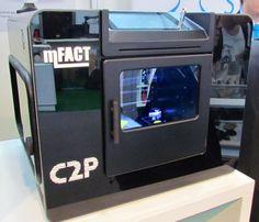 An Unusual Desktop 3D Printer from Turkey #3DPrinting