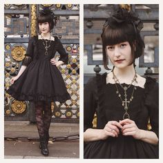 From the time when i still cared to dress up rip #lolitafashion #gothiclolita…