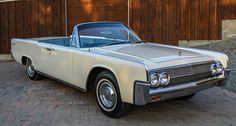 1963 Lincoln Continental Convertible  - Sedan Maintenance/restoration of old/vintage vehicles: the material for new cogs/casters/gears/pads could be cast polyamide which I (Cast polyamide) can produce. My contact: tatjana.alic@windowslive.com