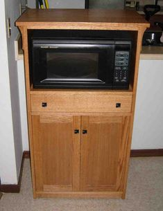 32 Best Microwave Cabinet Images