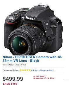 20 Best Black Friday 2014 Dslr Camera Deals Images Dslr Camera Camera Deals Dslr