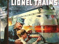 Lionel Trains catalog cover 1935