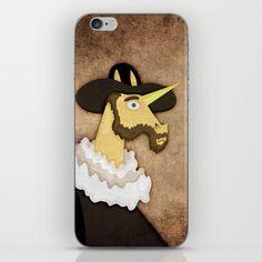 Ruffled Unicorn iPhone & iPod Skin