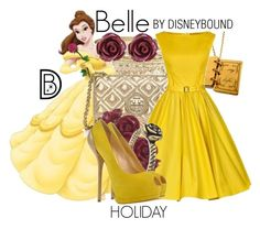 """""""Belle"""" by leslieakay ❤ liked on Polyvore featuring Lipsy, Brooks Brothers, Disney, Tory Burch, Wet Seal and Giuseppe Zanotti"""