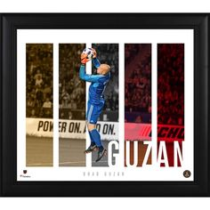 Each collectible comes designed with a photo of the player, their home stadium, and a team logo. It is framed in black wood and officially licensed by Major League Soccer. The finished piece measures x x and is ready to hang in any home or office. A Team, Team Logo, Atlanta United Fc, Fan 2, Major League Soccer, Black Wood, Collage, The Unit, Baseball Cards