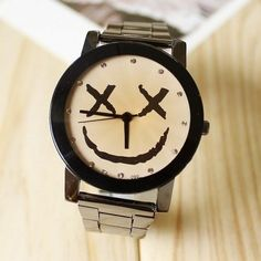 Cute Smiley Face Watch