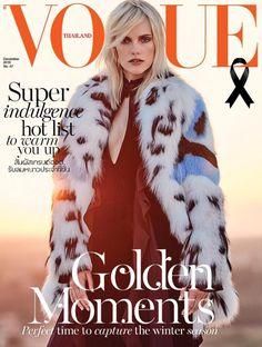 Vogue Thailand December 2016 -- Mia Stass by Marco Bertani