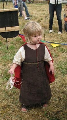 Toddler Garb.....from a Renaissance faire.