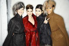 Fashion Backstage — Donna Karan Fall 2014 - NYFW