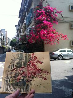 New drawing art sketches urban sketchers ideas Watercolor Art, Art Painting, Sketch Book, Art Drawings, Drawings, Urban Sketchers, Art, Art Journal, Cool Drawings
