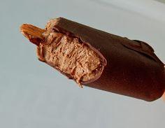 SORVETE DE CHOCOLATE E AVEIA