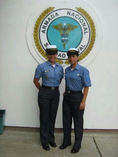 Representando a lo mejor de la armada nacional de colombia