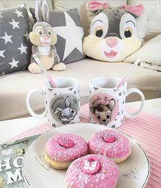 Cute cartoon mugs creative design concept 2020 Decor Disney Dream, Cute Disney, Disney Tassen, Disney Merch, Deco Disney, Disney Coffee Mugs, Disney Rooms, Disney Home Decor, Disney Aesthetic
