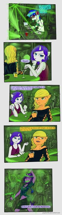 MLP Night life by poptart36.deviantart.com on @deviantART