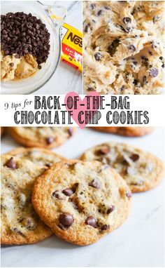 9 tips for making back-of-the-bag chocolate chip cookies from @bakeat350  @thepioneerwoman