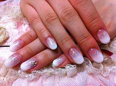 cute oval acrylic nails tumblr
