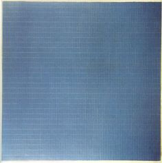 Agnes Martin, Night Sea (1963). Oil and gold leaf on canvas, 183 cm x 183 cm