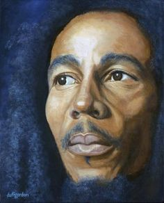 """Saatchi Art is pleased to offer the painting, """"Rebel Music,"""" by Clive Duff Gordon. Original Painting: Acrylic on Canvas. Size is 0 H x 0 W x 0 in. Music Painting, Painting & Drawing, Robert Nesta, The Duff, Bob Marley, Black Art, Rebel, Saatchi Art, Original Paintings"""