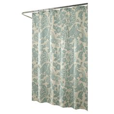 I pinned this Birds of a Feather Shower Curtain from the Zen Bathroom Retreat event at Joss and Main!