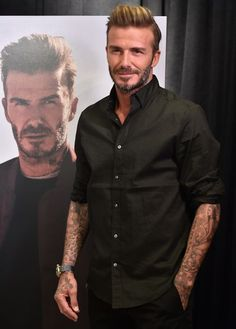 David Beckham launches the new H&M Modern Essentials campaign