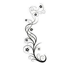 82 Best Flower Vine Tattoos Images Mandalas Tattoo Artists Lotus