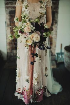 Two extraordinary brides for a sumptuous bohemian Jew-ish Wedding at Broger's End Kangaroo Valley, Australia