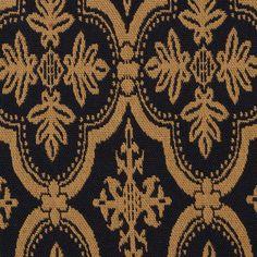 Arlington 2060 Mustard Black (B) Amish Furniture, Primitive Furniture, Furniture Upholstery, Upholstery Fabrics, Primitive Home Decorating, Primitive Homes, Primitive Decor, Fall Decorating, Primitive Curtains