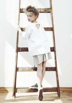Keep it simple! Love casual chic on little ones!
