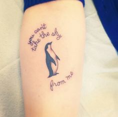 90 Penguin Tattoos For the Animal Lover Adorable Penguin tattoo Designs Phrase Tattoos, Head Tattoos, Tribal Tattoos, Tattoo Quotes, Small Couple Tattoos, Small Tattoos, Yellow Flower Tattoos, Pinguin Tattoo, Balloon Tattoo