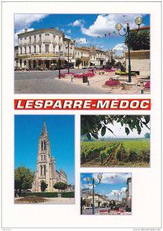 Lesparre Medoc postcard