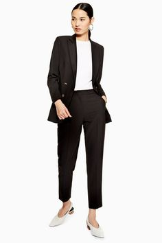 Unlined Cigarette Trousers